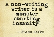 non-writing monster