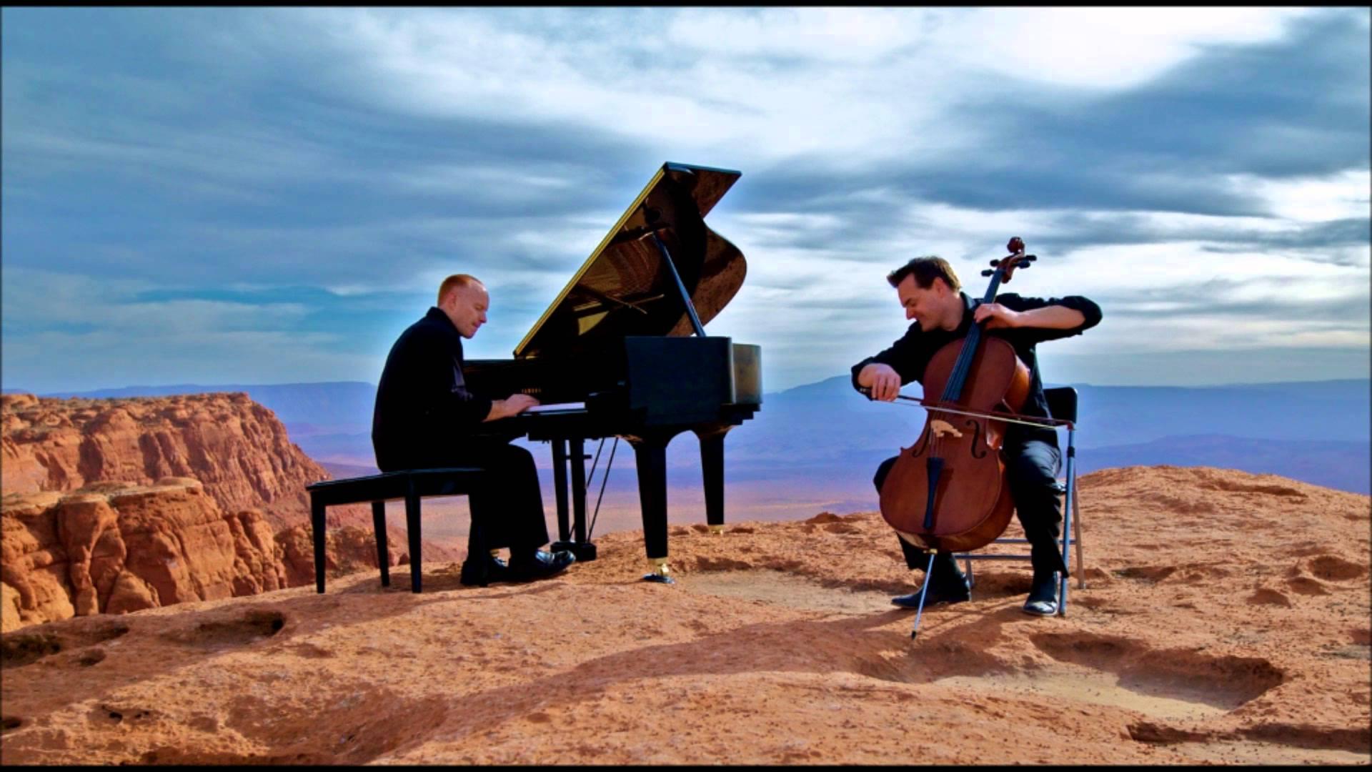 piano guys cliff